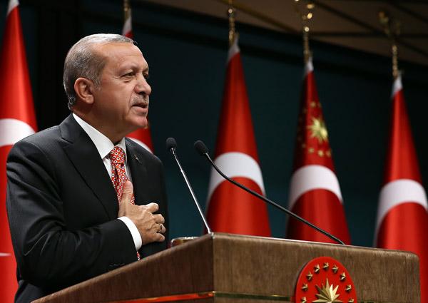 Erdoğan: Hayırcılar 15 Temmuz'un devamıdır