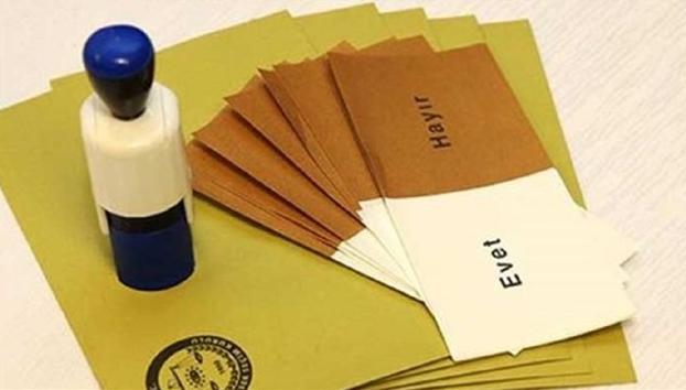 Referandumun kesin sonuçları açıklandı