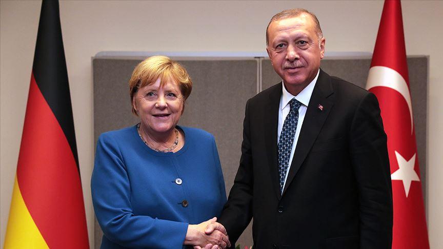 Erdoğan - Merkel ABD-İran görüşmesi