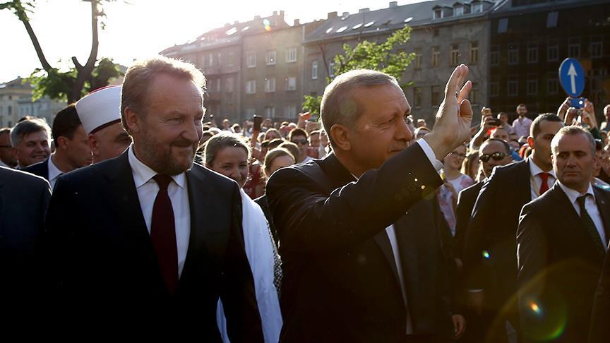 Erdoğan'ın Avrupalı Türkler ile buluşması