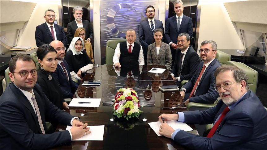 Erdoğan: Hedefimiz belli