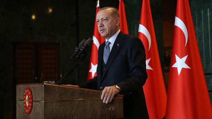 Erdoğan: Yola devam