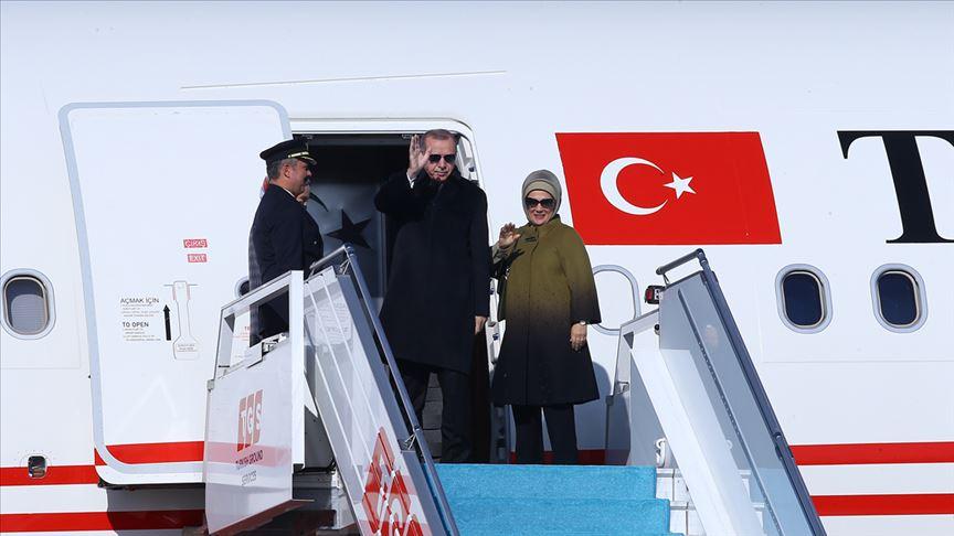 Erdoğan'ın 150. ziyareti Almanya