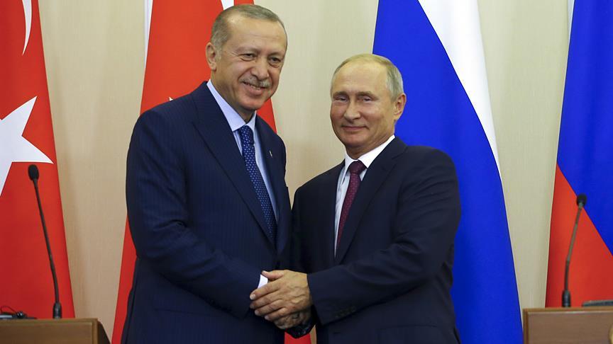 Erdoğan ve Putin'in diplomasisi