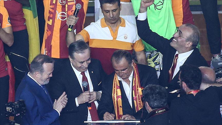 Fatih Terim ile 5 yıllık yeni sözleşme