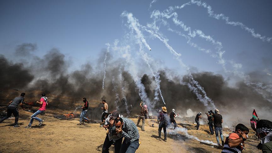 Gazze'deki Büyük Dönüşde yedinci cuma