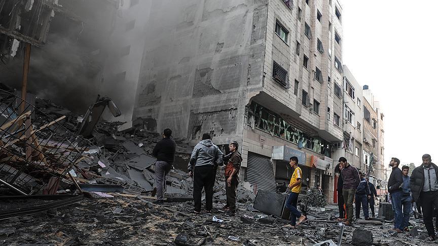 Gazze saldırısından geride kalanlar