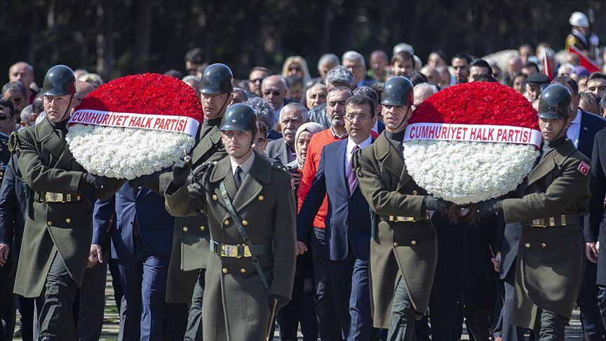 """İmamoglu'nun """"Anıtkabir' ziyaret esasına ikaz"""