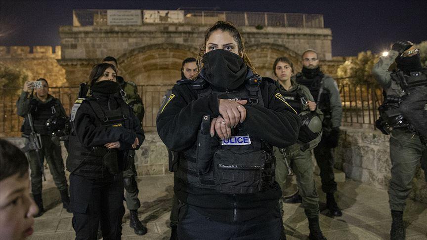 İsrail Mescid-i Aksa baskını