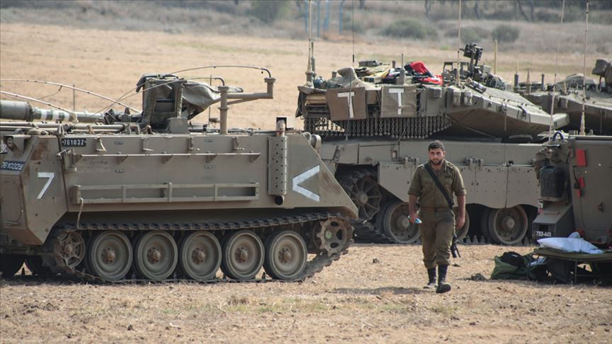 İsrail ordusuna Gazze sınır takviyesi