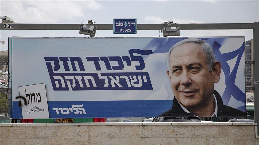 İsrail sandıkla baş başa