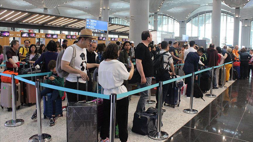 İstanbul Havalimanında megapollerden fazla yolcu