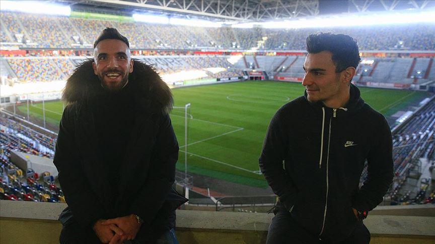 Fortuna Düsseldorflu Kaan Ayhan ve Kenan Karaman