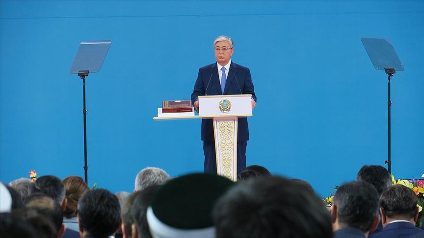 Kazakistan'da Kasım Cömert Tokayev