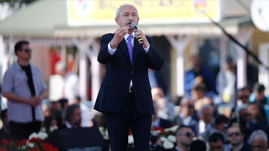 Kılıçdaroğlu: Hiç kimsenin önünde diz çökmeyeceğiz