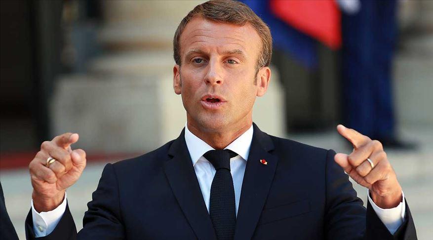 Macron'dan İran ve Libya açıklaması
