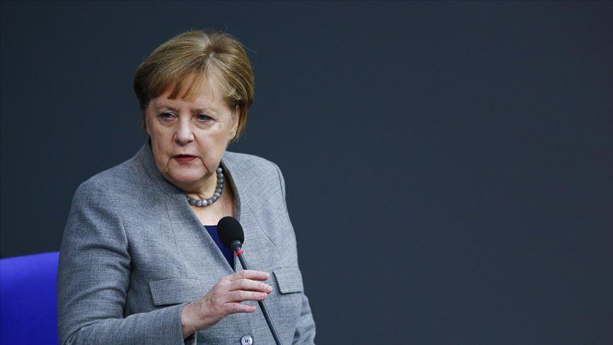 Merkel'in Libya Konferansı