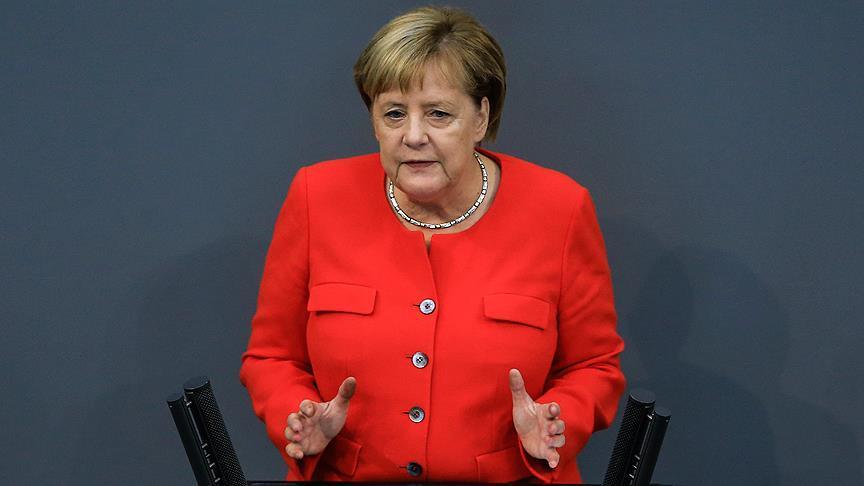 Merkel'den 'iki devletli çözüm'