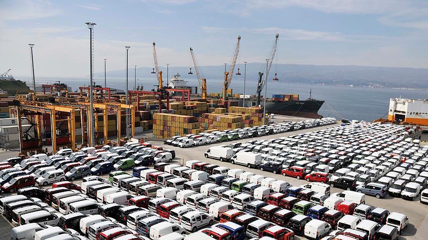 Otomotiv sektöründen ihracata ivme