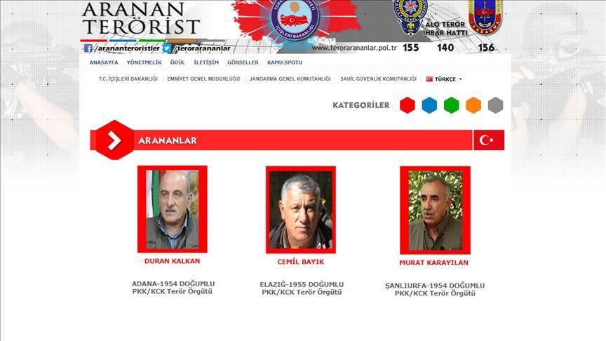 ABD'den PKK hakkında bilgiye ödül