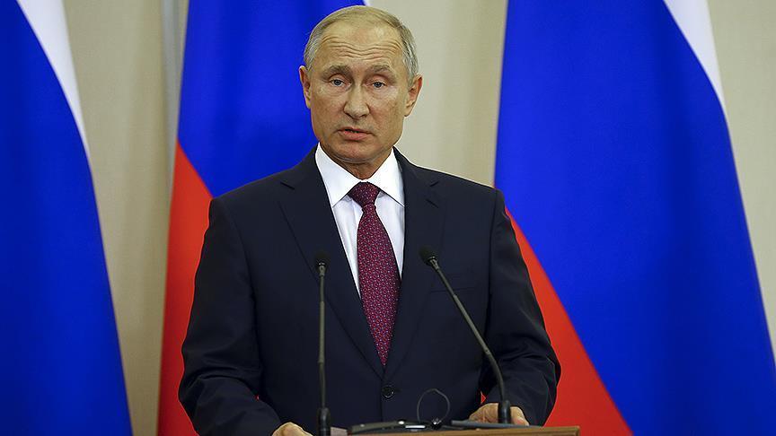 Putin: Rusya, Türkiye ile İdlib'de dayanışıyor
