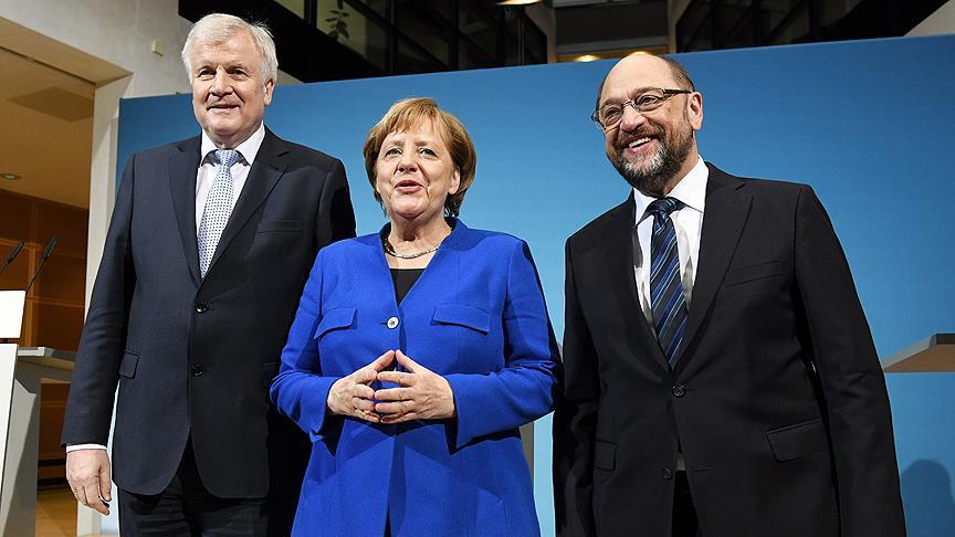 Almanya'da CDU/CSU ile SPD koalisyon için anlaştı