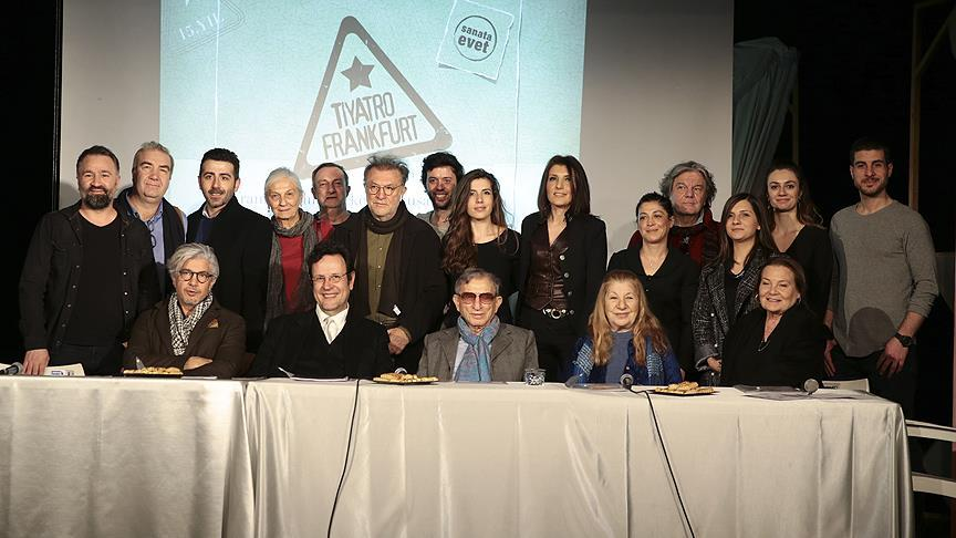 '5. Frankfurt Türk Tiyatro Festivali' 4 Mayıs'ta başlayacak
