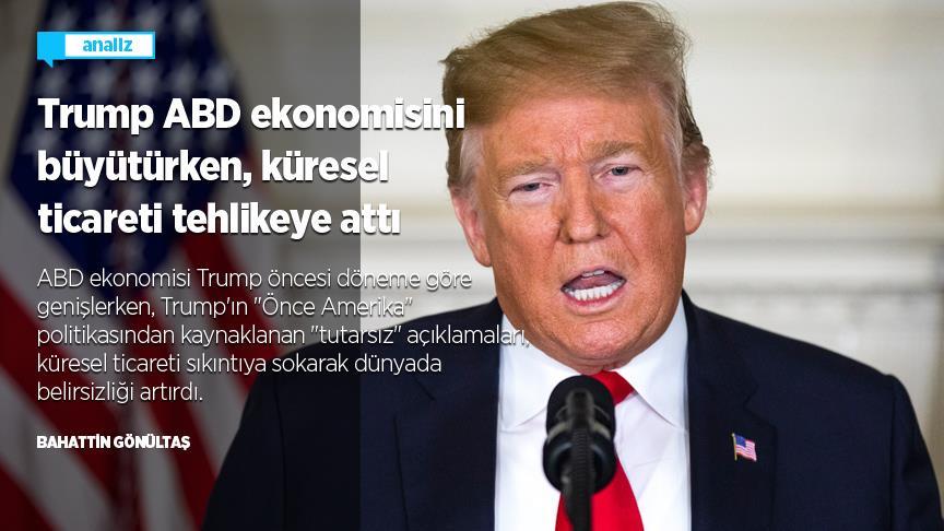 Trump küresel ticareti tehlikeye attı