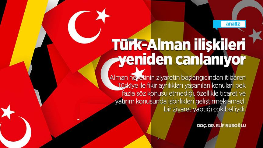 Türk-Alman ilişkileri yeniden canlanıyor