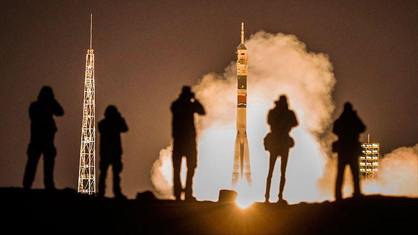 Soyuz MS 12 uzay yolunda