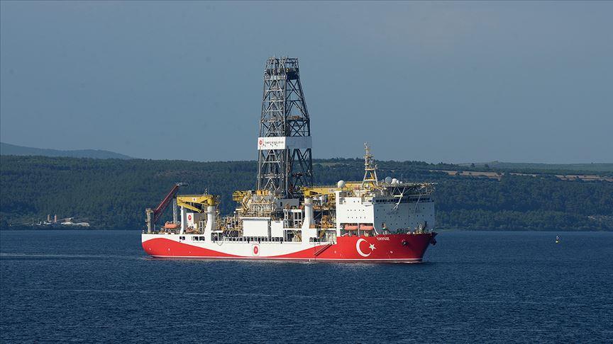 'Yavuz' gemisi Mersin açıklarında