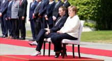 Merkel'in titreme nöbeti