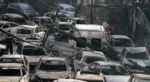 Atina'da ölenlerin sayısı 99