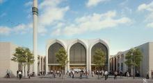 Almanya'da 2 bin kişilik cami
