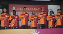 Galatasaray'ın gelecek sezon giyeceği parçalı forma tanıtıldı
