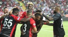 Gaziantep, Beşiktaş'ı yendi
