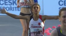 Türk atletizminde ilki başardı