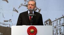 Erdogan: Kızıl elmamız büyük Türkiye'nin inşasıdır