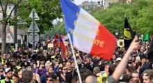 Fransa'da sarı yeleklilerin 43. haftası