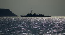 Komşuya savaş gemisi