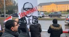 Sisiye Almanya'da protesto