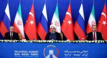 'Suriye' konulu Üçlü Zirve