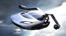 Malezya'da uçan otomobil toplu taşımada
