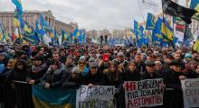 Ukrayna'daki protestolarda 'kırmızı çizgi'