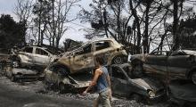 Yunanistan'daki yangın faciasının sebebi