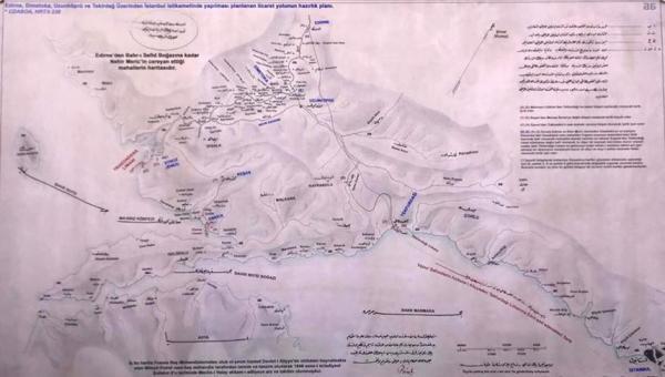 Abdülhamid'in çizdirdiği 'özel harita'