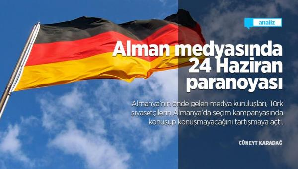 Alman medyasında paranoya