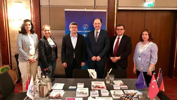 Anadolu Üniversitesi'ni Avrupalılara Tanıttılar