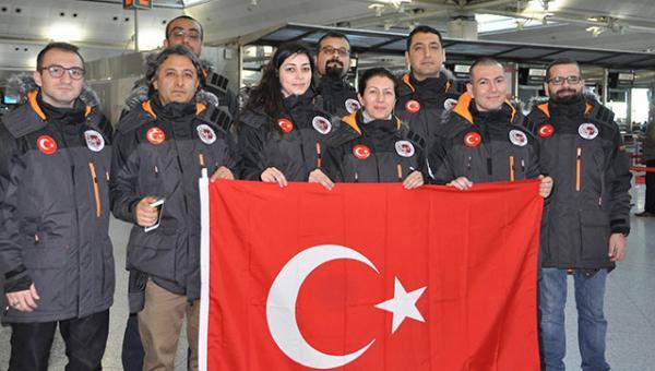 Türk bilim heyeti Antarktika'da