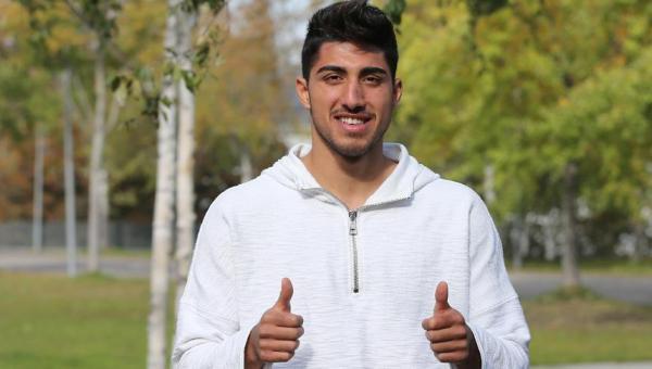 Milli futbolcu Berkay Özcan sezonun ilk yarısını kapattı